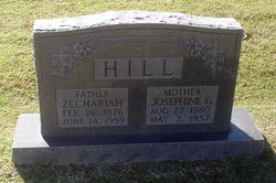 Zechariah P. Jack Hill