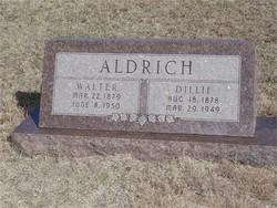 Dillie Elizabeth <i>Moore</i> Aldrich