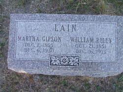 Martha <i>Gipson</i> Lain