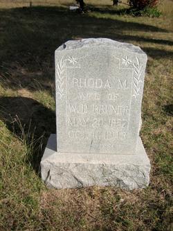 Rhoda M. Bruner