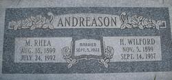 Myrtle Rhea Andreason