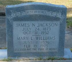 Mary L <i>Williams</i> Jackson