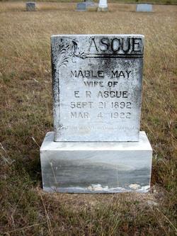 Mable May <i>Palmer</i> Ascue