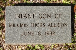Infant Son Allison