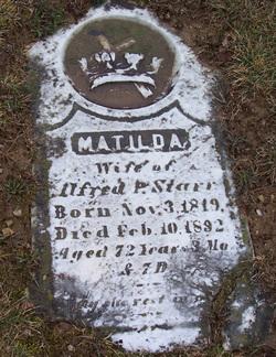 Matilda <i>McSherry</i> Starr