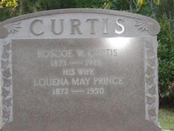 Louena May <i>Prince</i> Curtis