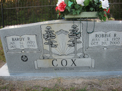 Robbie Ray <i>Conner</i> Cox