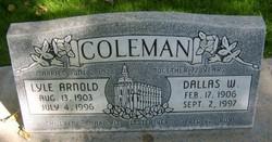 Lyle Arnold Coleman