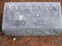 Marjorie Ida <i>Felt</i> Hasko