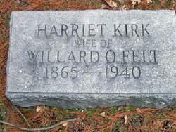 Harriet <i>Kirk</i> Felt