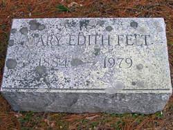 Mary Edith Felt