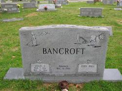 Lillie C <i>Ramsey</i> Bancroft