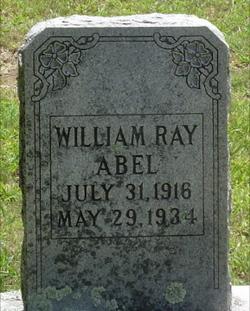 William Ray Will Abel