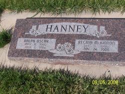 Regina <i>McKinnon</i> Hanney