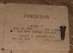 Janet E <i>Grant</i> Ferguson