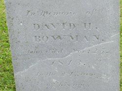 David H. Bowman