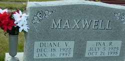 Ina R. <i>Sales</i> Maxwell