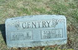 Sarah Frances <i>Skelton</i> Gentry