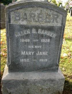 Mary Jane Barber