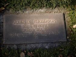 John E Thompson
