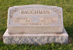 Ida M. <i>Haines</i> Baughman