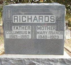 Mary Francis <i>Edmonds</i> Richards