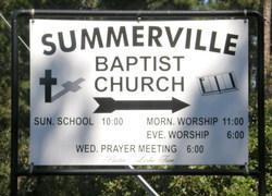 Summerville Baptist Church Cemetery