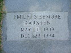 Emily <i>Sizemore</i> Karsten