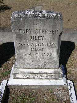 Henry Stephen Harry Riley