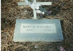 Mary Elizabeth <i>Sparks</i> Matchett
