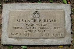 Eleanor B. Rider