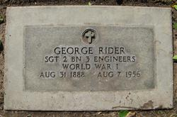 George Rider