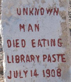 Man (Library Paste) Unknown