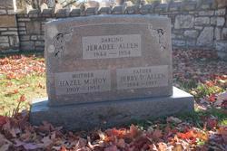 Hazel M <i>Hoy</i> Allen