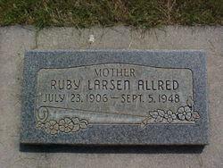 Ruby Elizabeth <i>Larsen</i> Allred