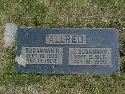 Susannah <i>Roundy</i> Allred