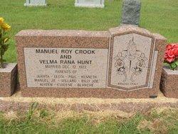 Velma Rana <i>Hunt</i> Crook