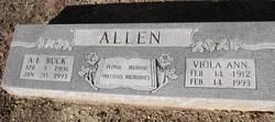 Arthur E. Buck Allen