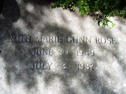 Ruth Marie <i>Gunn</i> Rose