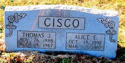 Alice E. <i>Davis</i> Cisco