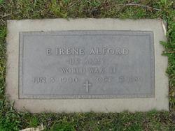 E Irene Alford