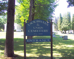 Lackawaxen and Union Cemetery