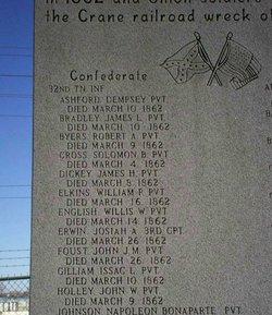 Corp Josiah A. Erwin, III