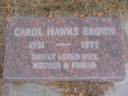 Carol <i>Hawks</i> Brown