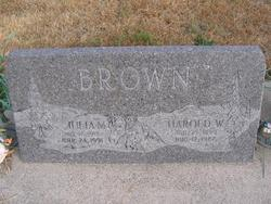 Julia M Brown