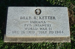 Pvt Billy Ray Ketter