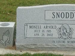 Monell <i>Arnold</i> Snoddy