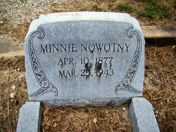 Minna Minnie <i>Spangenberg</i> Nowotny
