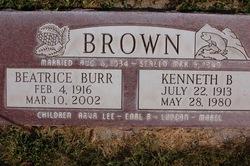 Beatrice <i>Burr</i> Brown