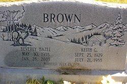 Beverly Hazel <i>Price</i> Brown
